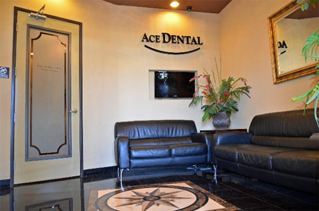 Ace Dental's Comfortable Waiting Room